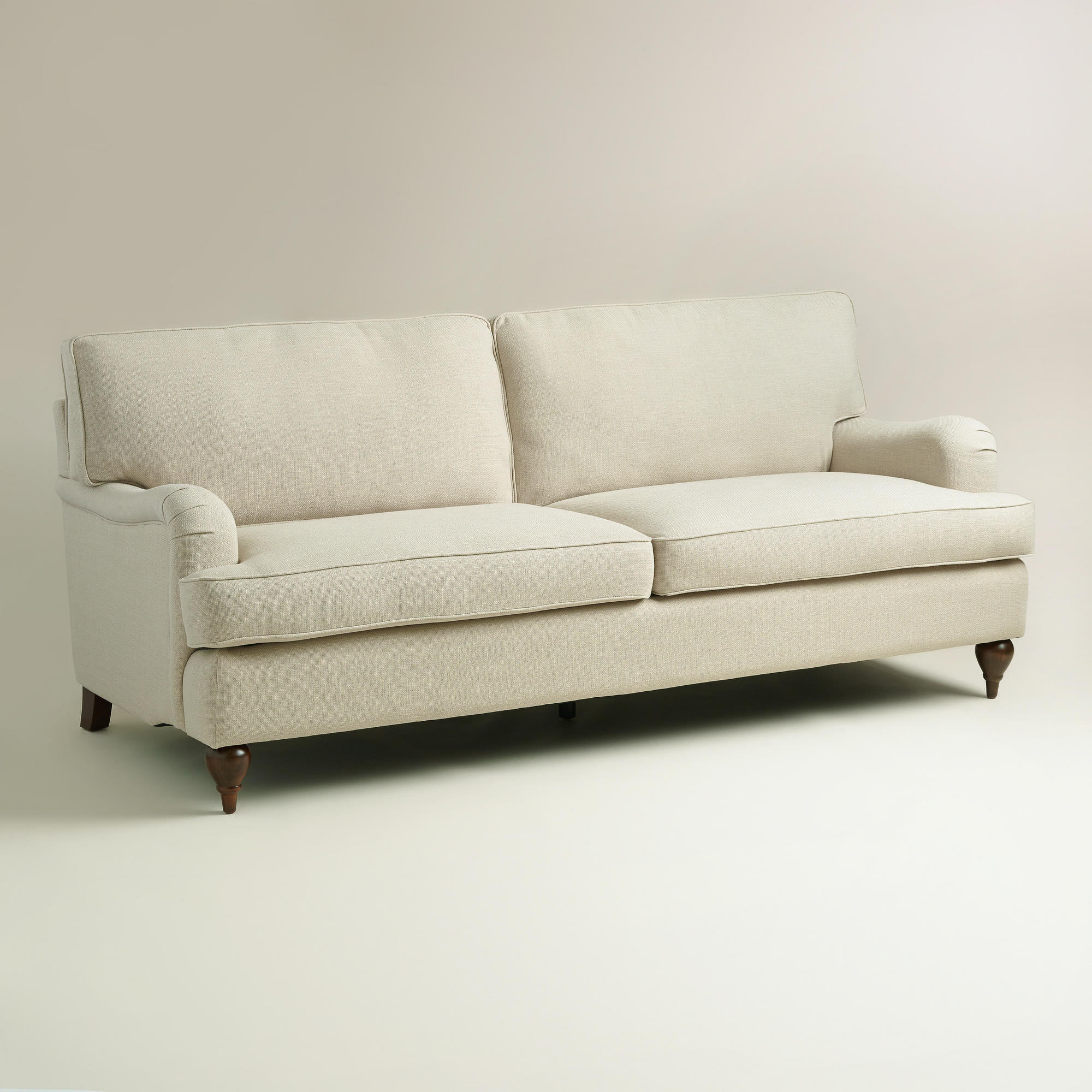 Sand Linen Maryn Sofa From Cost Plus World Market Furniture