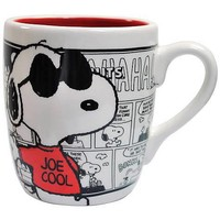 Peanuts Snoopy Joe Cool Mug - Westland Giftware - Peanuts - Mugs at Entertainment Earth
