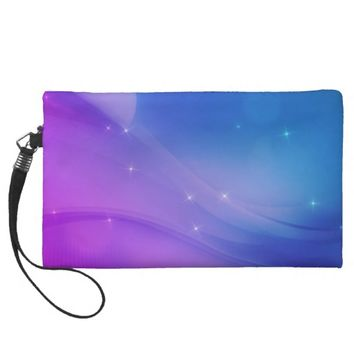 Fantasy Wave Wristlet Purse