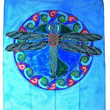 Dragonfly Hand Batiked Wall Hangings