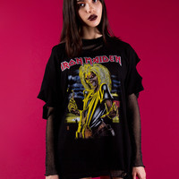 Iron Maiden Distressed Killers Unisex T-shirt