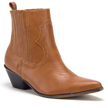 Women's Texas Short Western Ankle Bootie Cowboy Boots