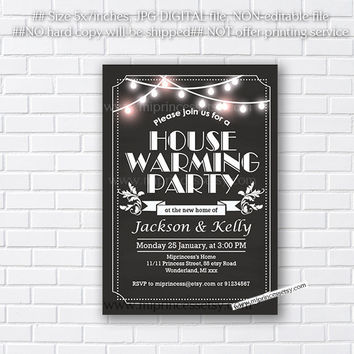 housewarming invitation,  housewarming bbq, New house home sweet home Invitation Card | We have moved Invitation Card Design - card 736