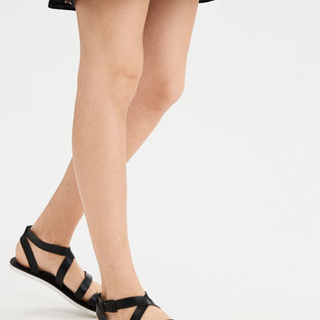 AEO Toe Ring Sandal, Black