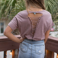 Madison Square Dusty Mauve Top