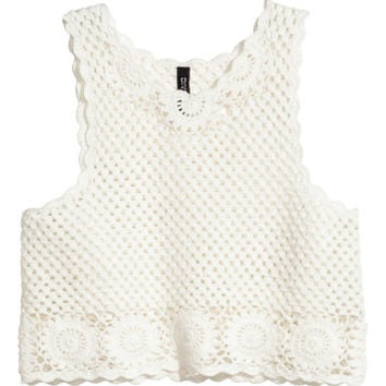 H&M Crocheted Top $17.99