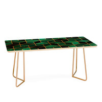 Elisabeth Fredriksson Emerald Cubes Coffee Table
