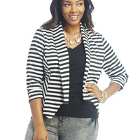 Rouched Sleeve Blazer | Wet Seal +