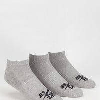 Nike Sb 3 Pack No Show Socks Black/Grey One Size For Men 26136412701