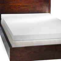 Comfort Dreams 4-inch Memory Foam Mattress Topper with Two Bonus Contour Pillows | Overstock.com Shopping - The Best Deals on Memory Foam Mattress Toppers