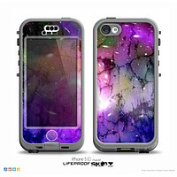 The Warped Neon Color-Splosion Skin for the iPhone 5c nüüd LifeProof Case