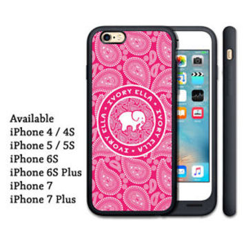 Luxury Pink Pattern Paisley Print On Protector Hard Cover Case For iPhone 7 plus