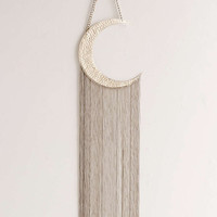 Moon Fringe Wall Hanging - Urban Outfitters