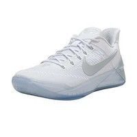 nike men kobe a d white chrome size 13 0 us nike kobe  number 1