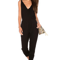 cupcakes and cashmere Dallas Jumpsuit in Black | REVOLVE