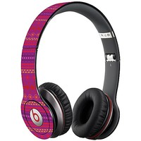 Purple Tribal Skin  for the Beats Solo HD by skinzy.com