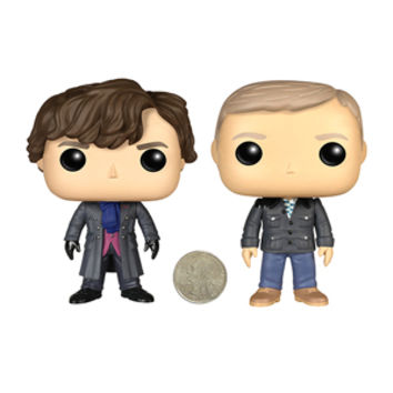 Sherlock Pop Vinyl Figures