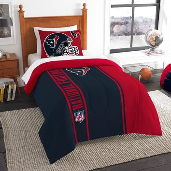 Houston Texans NFL Twin Comforter Set (Soft & Cozy) (64 x 86)