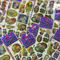90S HOLOGRAPHIC RUGRAT STICKERS
