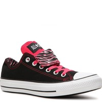 Shop  Converse Double Tongue Zebra Print Sneaker Larger View
