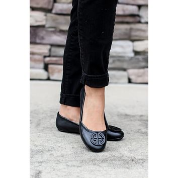 The Annabelle Flats - Black