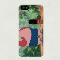 Lilo and Fat Icecream Tourist from Lilo & Stitch iPhone 4 4s 5 5s 5c Samsung Galaxy S3 S4 Case