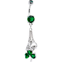 Irish Celtic Knot Claddagh Belly Ring | Body Candy Body Jewelry