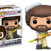 Funko Pop! Television: Bob Ross with Paintbrush