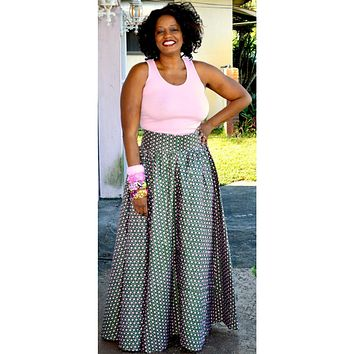 Charmin Romantic Maxi Skirt