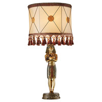 Park Avenue Collection Egyptian Pharoah Lamp