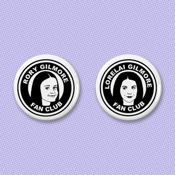 Gilmore Girls fan club button set