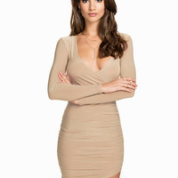Ruched Wrap Dress, NLY One