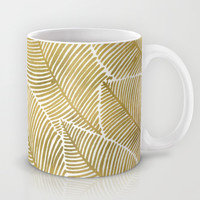 Tropical Gold Mug by Cat Coquillette