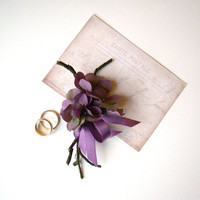 Wedding Corsage, Lavender Corsage, Wedding Party Flowers, Mother of Bride Groom, Hydrangea Corsage, Special Occasion Flower, Wedding, Orchid