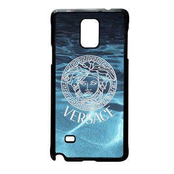 Versace logo on water Samsung Galaxy Note 4 Case