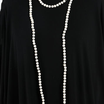 Camille Necklace - White
