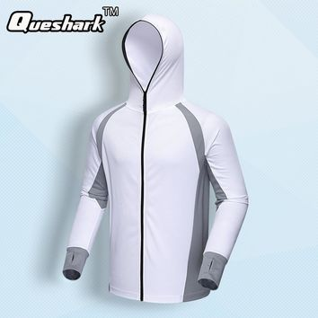 Men Women Outdoor Fishing Jacket Quick Dry Sunscreen Breathable Fishing Clothes Overall Hoodies Sports Coats Hiking Jackets