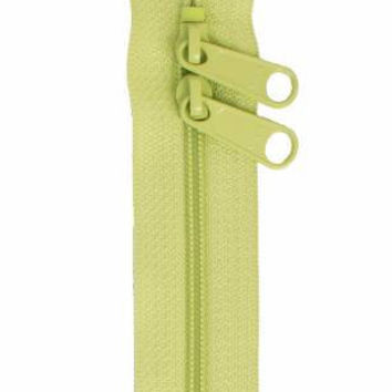 YKK Handbag Zipper 30 inches Double Slide Chartreuse