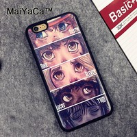 MaiYaCa Stranger Things Newest Soft TPU Phone Cases For Apple iphone 6 Case 4.7'' Fashion Case For iphone 6S 6 Cover