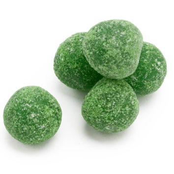 Sour Spanks Chewy Candy Balls - Green Apple: 5LB Bag