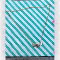 DARLING DISTRACTION- BABYGIRL NECKLACE GOLD