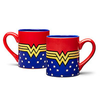 Wonder Woman Glitter 14oz Mug