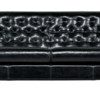 Hall Sofa - 3 seats - Leather version by Driade