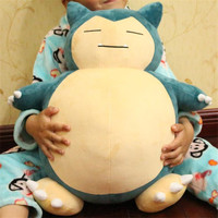 "Valentine's Day 1pcs 20inch""50cm Plush Toy Snorlax Plush Anime New Rare Soft Stuffed Animal Doll For Kid Gif Valentine's Day"