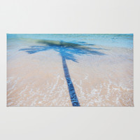 TREE IN SEA Area & Throw Rug by Catspaws | Society6