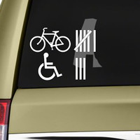 Accident Hit / Kill Count Tally Funny Bumper Sticker Vinyl Decal JDM Sticker Dope Car Truck SUV Window Sticker Decal Motorcycle Sticker