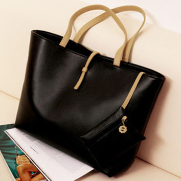 Korean Bags Casual Shoulder Bags Purse [6050450689]