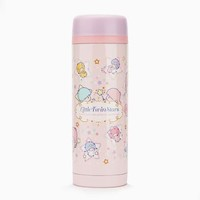 Little Twin Stars 11 oz. Stainless Steel Mug: Pink