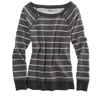 Aerie Sparkle Stripe Crew Neck Sweatshirt | Aerie for American Eagle