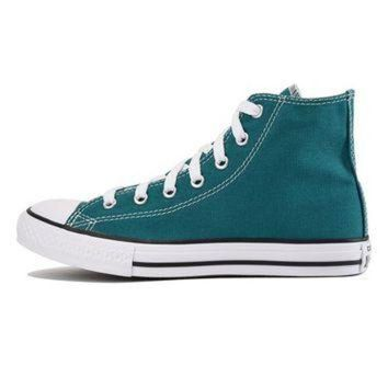 CREYUG7 Converse for Kids Chuck Taylor All Star Hi Rebel Teal Sneaker